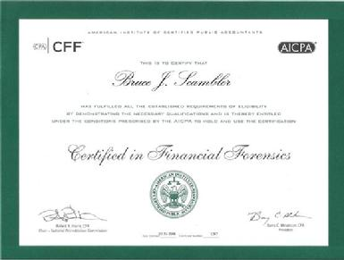 Certified in Financial Forensics